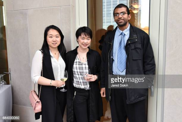 Lulu Guo Alice Chen and Eliseo Santos attend AVENUE Celebrates Petra Nemcova's April/May Cover and their Philanthropy Issue and the Announcement of...