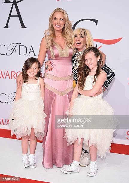 Lulu Johnson and designer Betsey Johnson attend the 2015 CFDA Fashion Awards at Alice Tully Hall at Lincoln Center on June 1 2015 in New York City