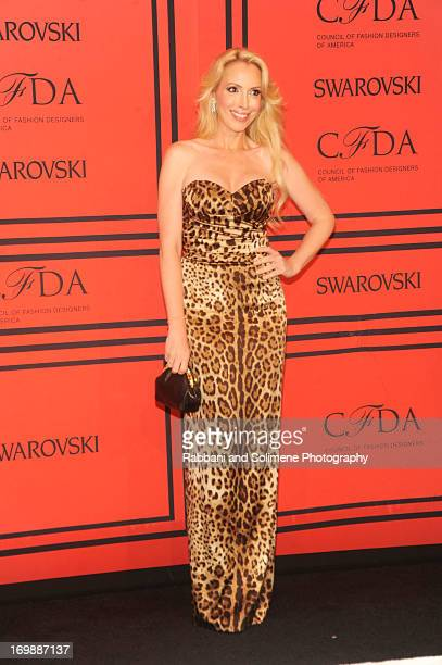Lulu Johnson attends 2013 CFDA Fashion Awards at Alice Tully Hall on June 3 2013 in New York City