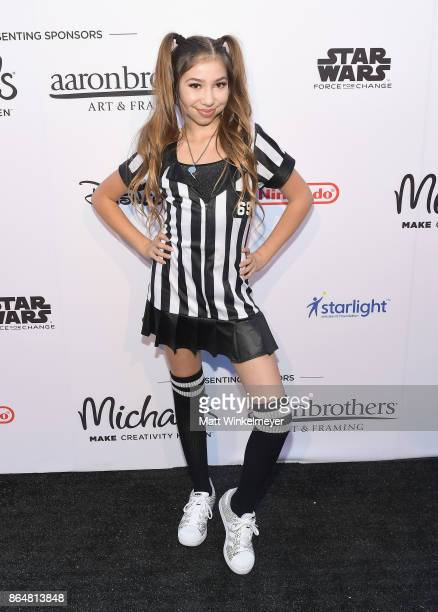Lulu Lambros at the Dream Halloween 2017 Costume Party Benefitting Starlight Children's Foundation presented by Michaels and Aaron Brothers at The...