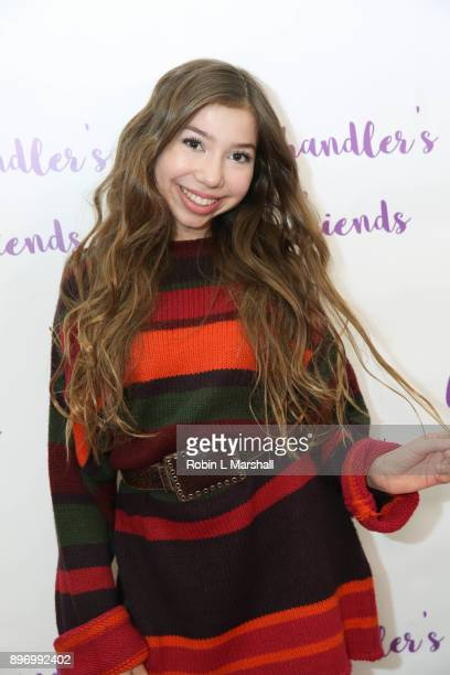 LuLu Lambros attends Chandler's Friends Toy Drive and Wrapping Party at Los Angeles Ballet Academy on December 10 2017 in Encino California