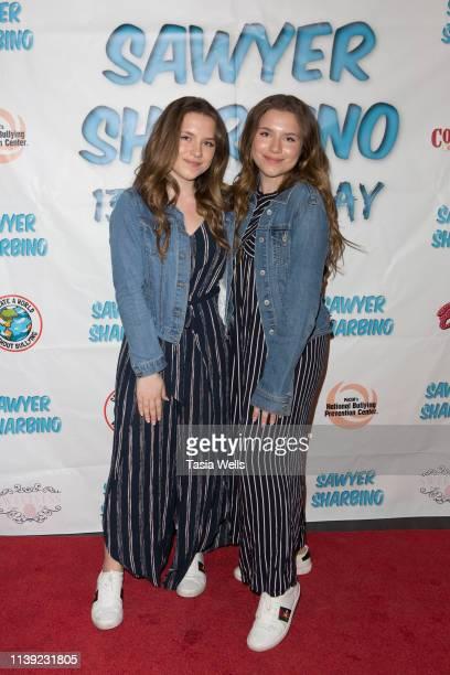 Lulu Lambros attends Sawyer Sharbino's 13th Birthday/AntiBullying Charity Event on March 29 2019 in Sherman Oaks California