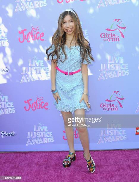 Lulu Lambros attends the 2019 Live Justice Awards held at Skirball Cultural Center on June 27 2019 in Los Angeles California