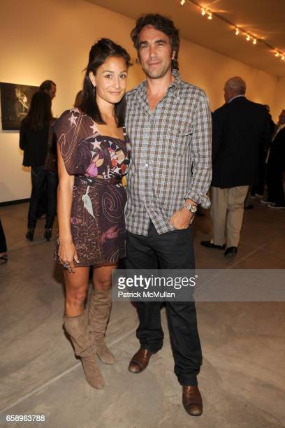 Lulu Monti and Andy Wasserman attend previewCRUSH 2009 for the ASPEN ART MUSEUM at Baldwin Gallery on August 6 2009 in Aspen CO