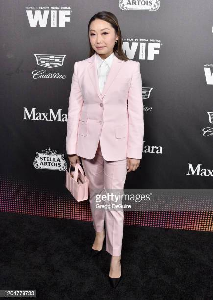 Lulu Wang attends the 13th Annual Women In Film Female Oscar Nominees Party at Sunset Room Hollywood on February 07 2020 in Hollywood California