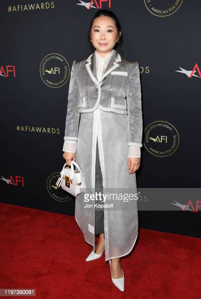 Lulu Wang attends the 20th Annual AFI Awards at Four Seasons Hotel Los Angeles at Beverly Hills on January 03 2020 in Los Angeles California
