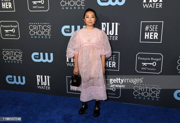 Lulu Wang attends the 25th Annual Critics' Choice Awards at Barker Hangar on January 12 2020 in Santa Monica California