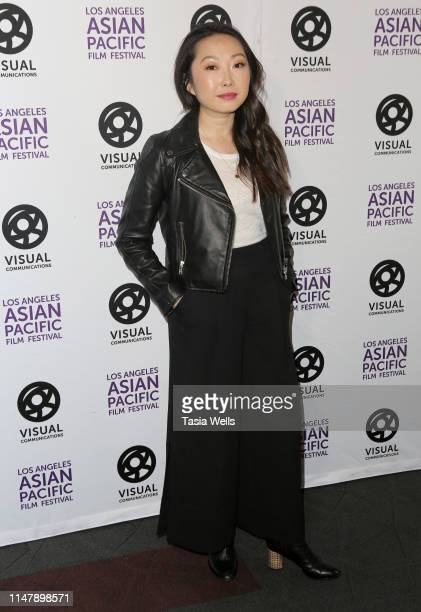 Lulu Wang attends the 35th LA Asian Pacific Film Festival The Farewell Photo Call at Regal Cinemas LA Live on May 08 2019 in Los Angeles California