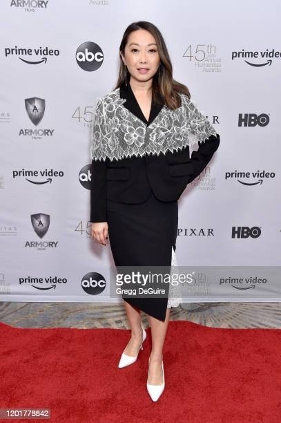 Lulu Wang attends The 45th Annual HUMANITAS Prize at The Beverly Hilton Hotel on January 24 2020 in Beverly Hills California