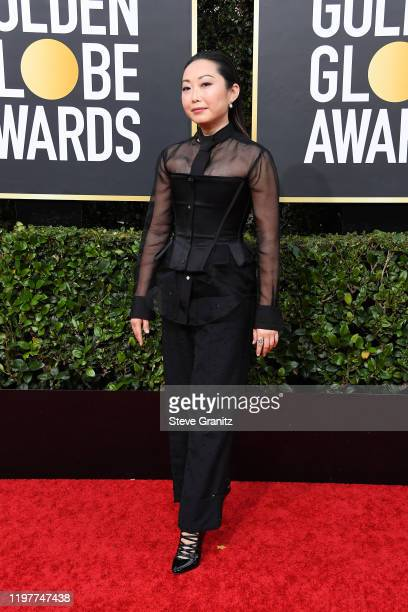 Lulu Wang attends the 77th Annual Golden Globe Awards at The Beverly Hilton Hotel on January 05 2020 in Beverly Hills California