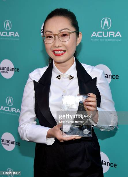 Lulu Wang recipient of the Vanguard Award attends The Farewell LA premiere presented by Sundance Institute and hosted by Acura at The Theatre at Ace...
