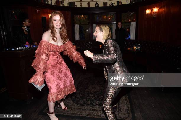 Lulu Wilson and Annalise Basso attend the after party for the premiere of Neflix's 'The Haunting Of Hill House' at ArcLight Hollywood on October 8...