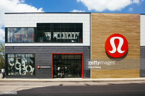 Lululemon Athletica Inc. Store stands in the Lincoln Park neighborhood of Chicago, Illinois, U.S., on Wednesday, July 10, 2019. The...
