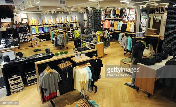 Lululemon athletica opens its first European store in Covent Garden on March 28, 2014 in London, England.