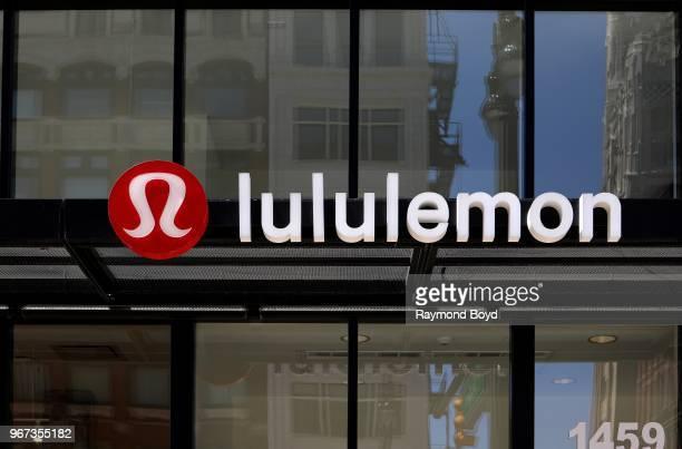 Lululemon in Detroit, Michigan on May 25, 2018.