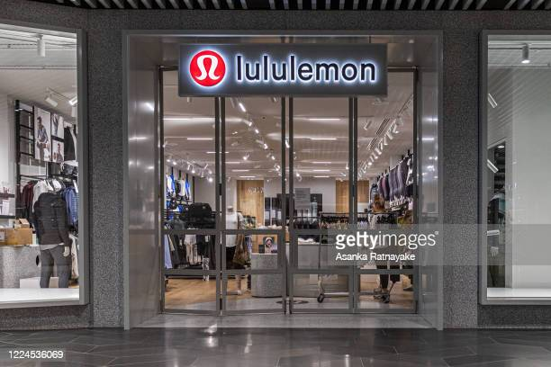 Lululemon store with employees inside getting ready for a re-opening on May 13, 2020 in Melbourne, Australia. COVID-19 restrictions have eased...
