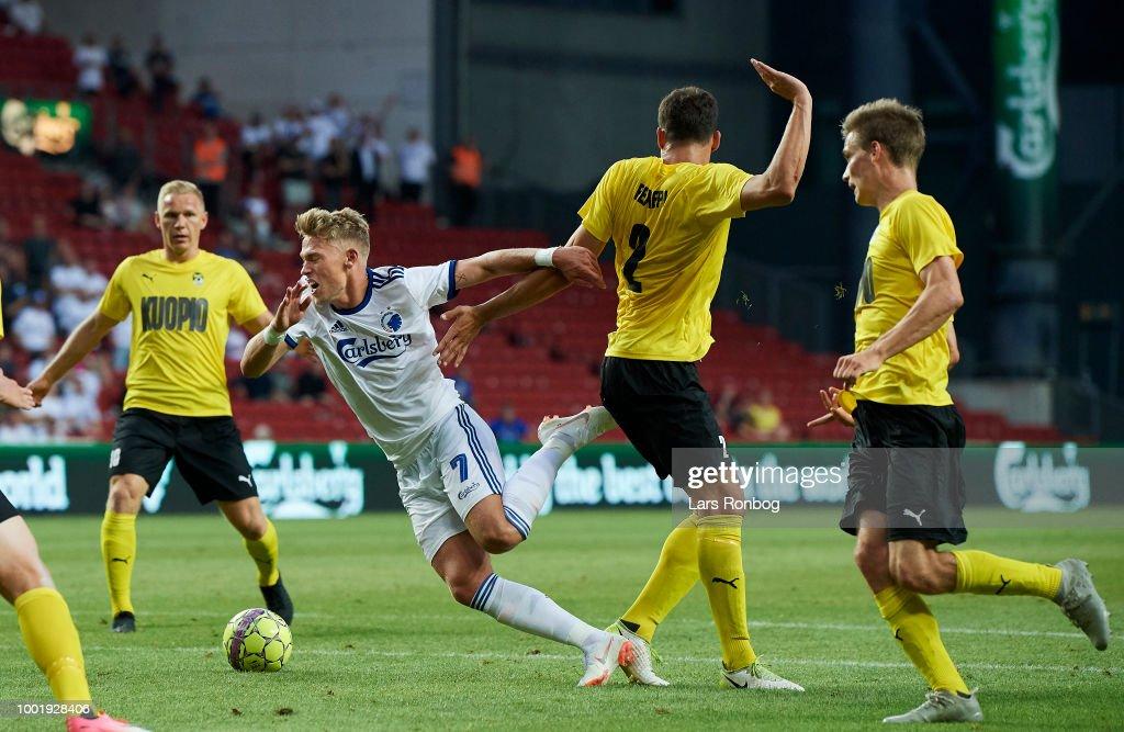 FC Copenhagen vs KuOPs Kuopion Palloseura - UEFA Europa League Qual. : News Photo
