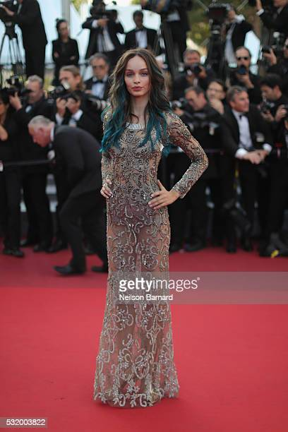 Luma Grothe attends the 'Julieta' premiere during the 69th annual Cannes Film Festival at the Palais des Festivals on May 17 2016 in Cannes France