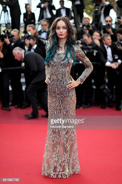 Luma Grothe attends the screening of Julieta at the annual 69th Cannes Film Festival at Palais des Festivals on May 17 2016 in Cannes France