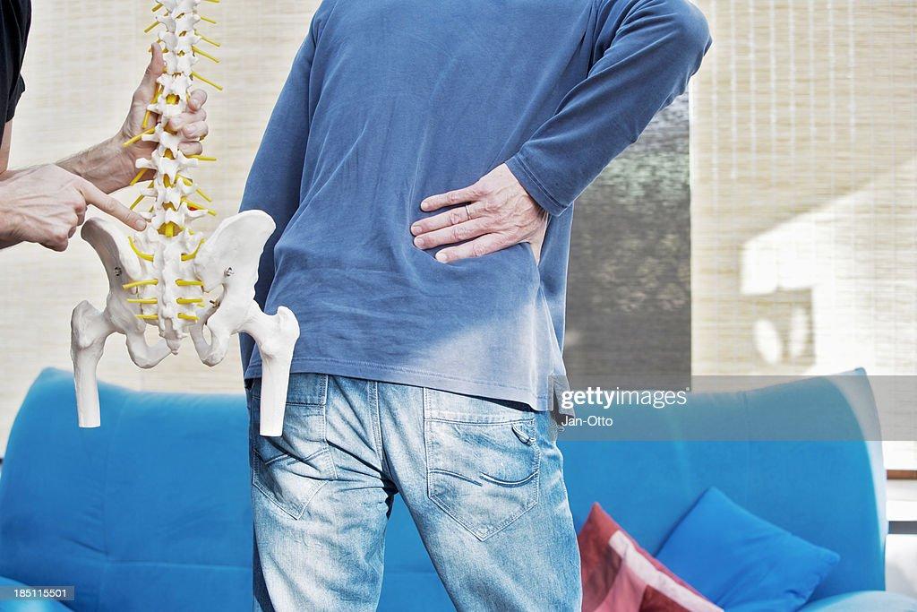 Lumbar pain : Stock Photo