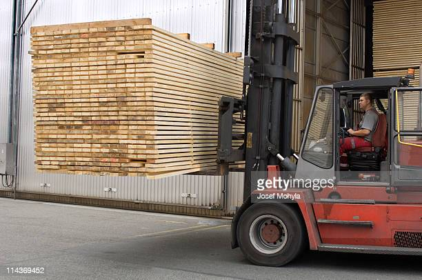 Lumber industry - transport finished planks