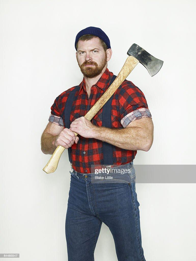 Lumberjack : Stock Photo