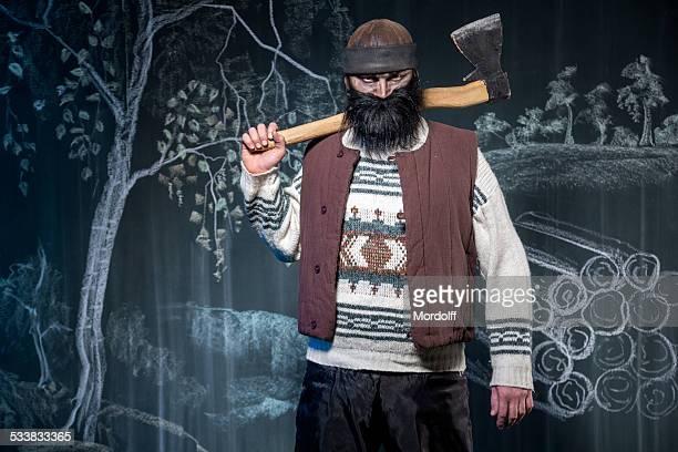 Blackbeard Lumberman