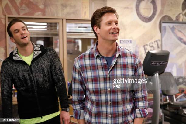 CHAMPIONS 'Lumps' Episode 104 Pictured Andy Favreau as Matthew Anders Holm as Vince