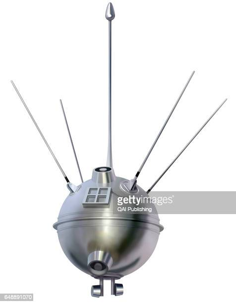 Luna 1 Soviet probe launched in 1959 the first spacecraft to pass close to the moon
