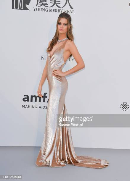 Luna Bijl attends the amfAR Cannes Gala 2019 at Hotel du CapEdenRoc on May 23 2019 in Cap d'Antibes France