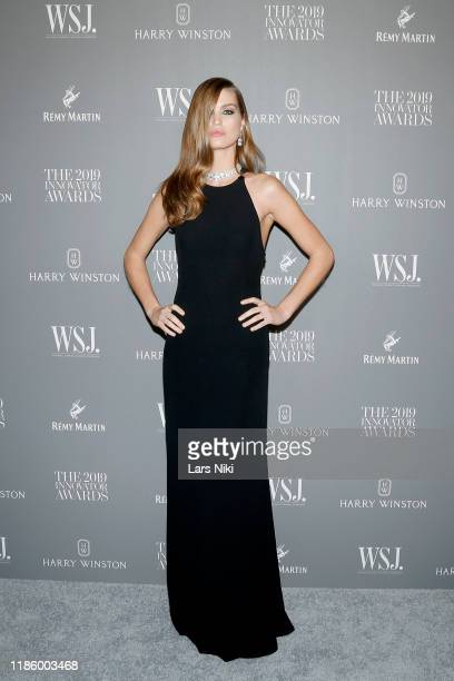 Luna Bijl attends the WSJ. Magazine 2019 Innovator Awards sponsored by Harry Winston and Rémy Martinat MOMA on November 06, 2019 in New York City.