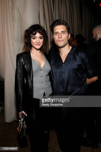 Luna Blaise and Ronen Rubinstein are seen as Entertainment Weekly Celebrates Screen Actors Guild Award Nominees at Chateau Marmont on January 18 2020...
