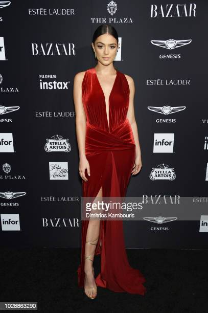 Luna Blaise attends as Harper's BAZAAR Celebrates ICONS By Carine Roitfeld at the Plaza Hotel on September 7 2018 in New York City
