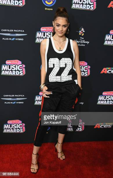 Luna Blaise attends the 2018 Radio Disney Music Awards at Loews Hollywood Hotel on June 22 2018 in Hollywood California