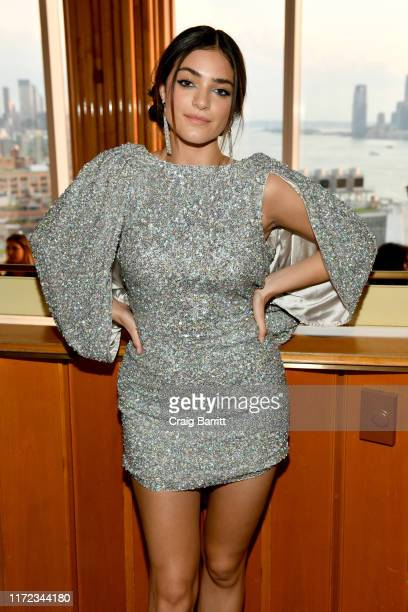 Luna Blaise attends the E ELLE and IMG NYFW kickoff party hosted by TRESemmé on September 04 2019 in New York City