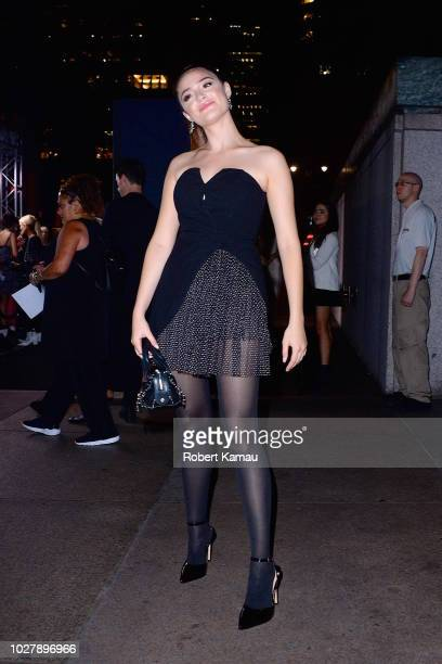 Luna Blaise is seen in Manhattan on September 5 2018 in New York City