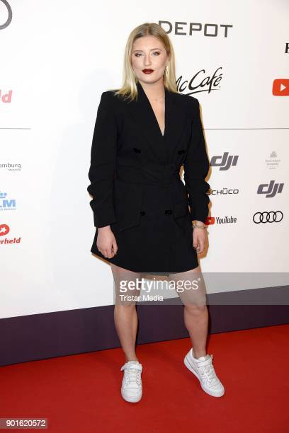 Luna Schweiger attends the Channel Aid Concert at Elbphilharmonie on January 5 2018 in Hamburg Germany