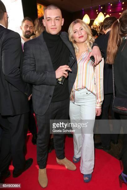 Luna Schweiger daughter of Til Schweiger and Marvin Balletshofer during the BUNTE BMW Festival Night 2017 during the 67th Berlinale International...