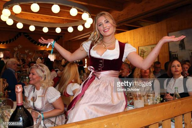 Luna Schweiger during the Breakfast at Tiffany at Schuetzen Festzelt at the Oktoberfest opening on September 21 2019 in Munich Germany