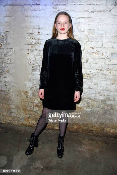 Luna Wedler attends the Pantaflix Pantaparty during 69th Berlinale International Film Festival at Alte Muenze on February 11 2019 in Berlin Germany