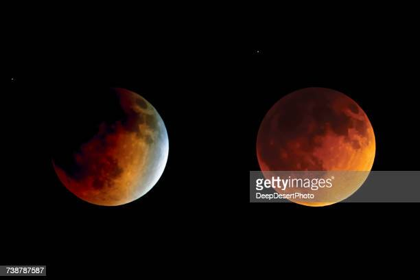 Lunar Eclipse from Beginning to Totality