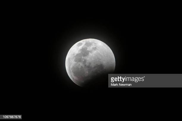 lunar eclipse - moon stock pictures, royalty-free photos & images