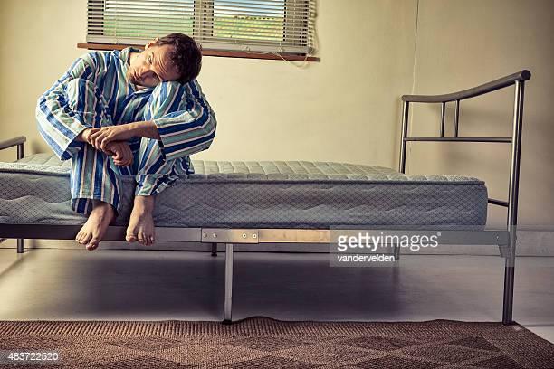 Lunatic de pyjama rayé