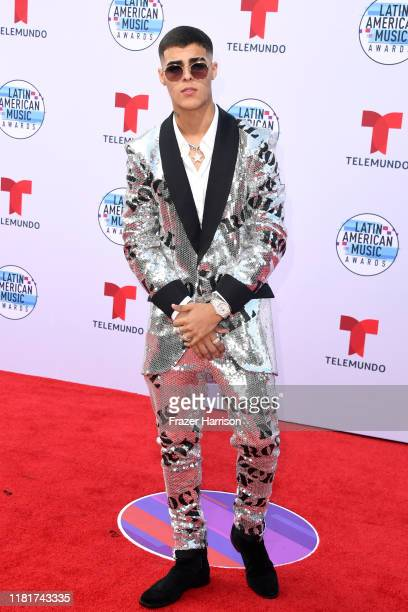 Lunay attends the 2019 Latin American Music Awards at Dolby Theatre on October 17 2019 in Hollywood California