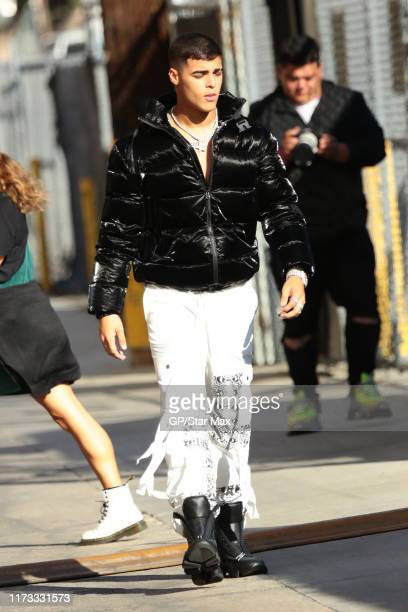 Lunay is seen on October 2 2019 in Los Angeles