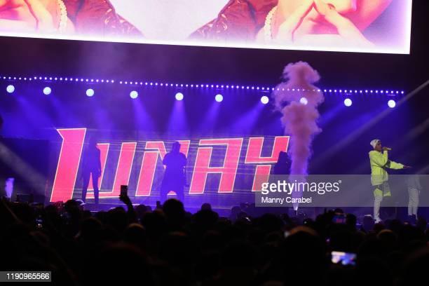 Lunay performs during La Mega 979 fm Mega Bash at Prudential Center on November 29 2019 in Newark New Jersey