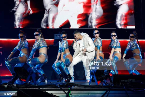 Lunay performs during Mega 963 FM Calibash 2020 at Staples Center on January 11 2020 in Los Angeles California