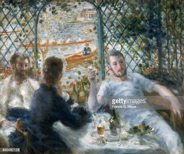 Lunch at the Restaurant Fournaise by PierreAuguste Renoir