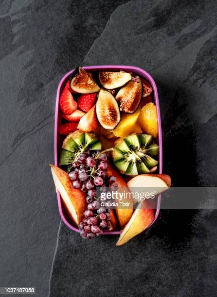 lunch box - tropical fruit stock pictures, royalty-free photos & images