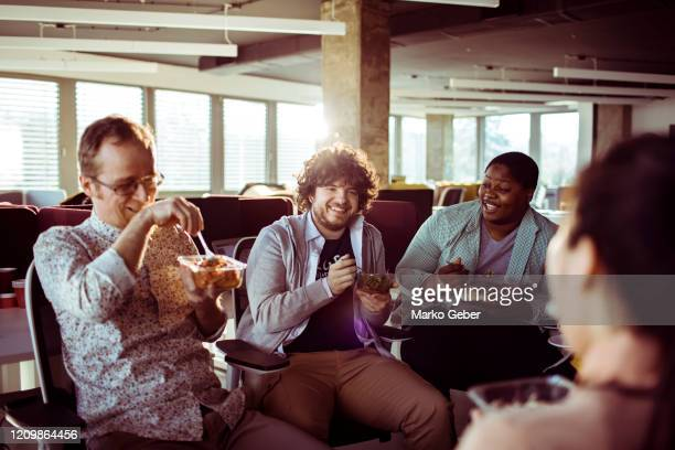 lunch break - social issues stock pictures, royalty-free photos & images